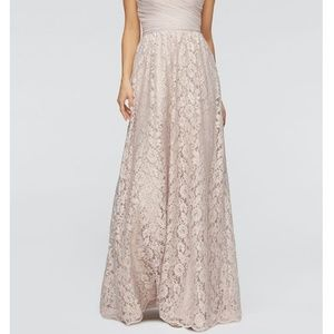 BHLDN Watters & Watters Lace Maxi Skirt